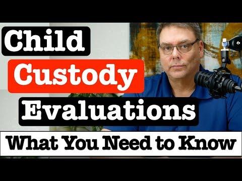 Custody Battles and Child Custody Evaluations