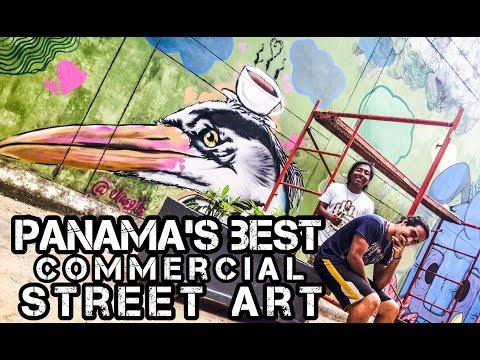Panama's Best Commercial Art, Graff, Murals & Signs / Mejor Arte Callejero Commercial - Panamá
