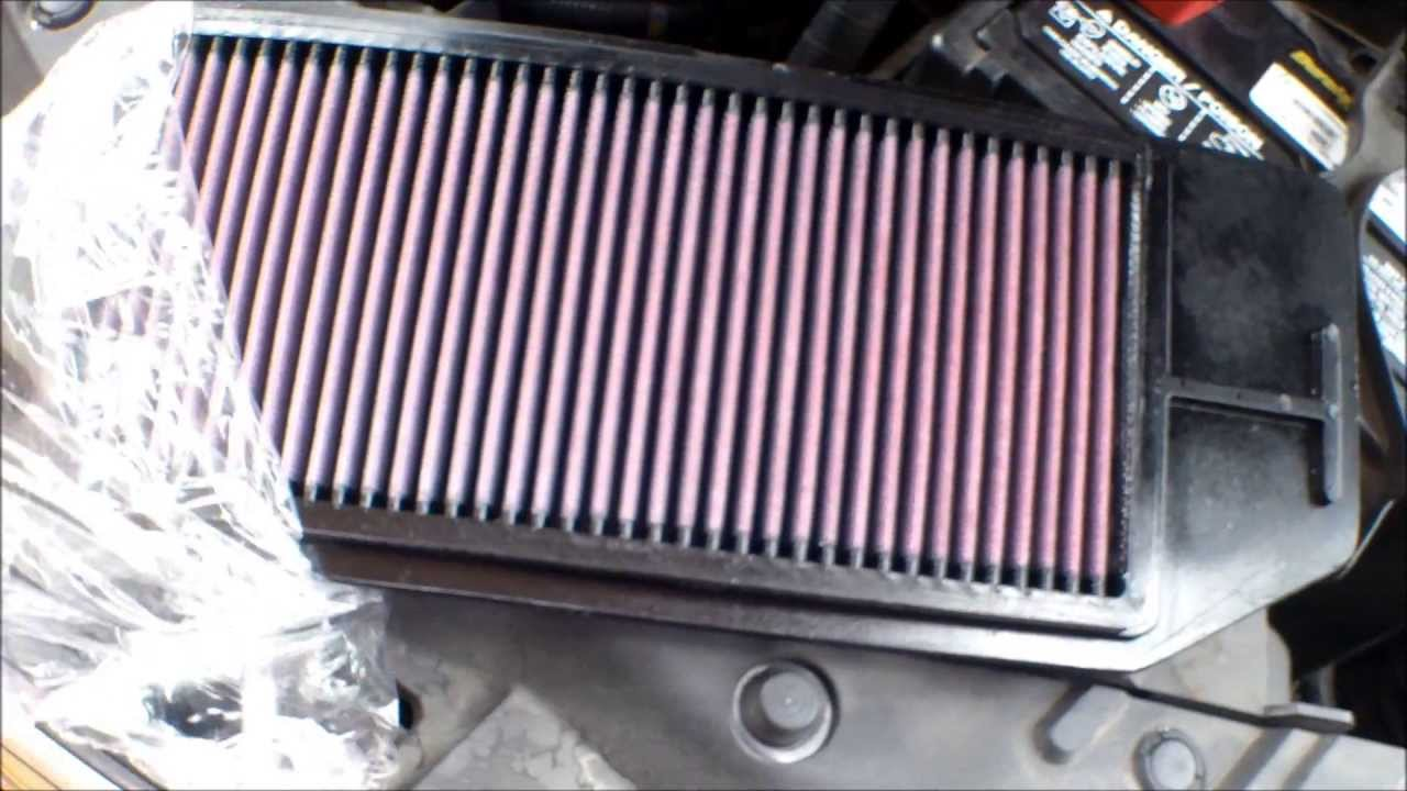 replace engine air filter Acura TSX √ - YouTube