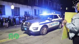 RAW FOOTAGE OF BOSTON PROTESTS OVER THE POLICE MURDER OF GEORGE FLOYD (5/31/20)