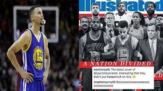 Steph Curry BLASTS Sports Illustrated for Leaving Colin Kaepernick Off the Cover