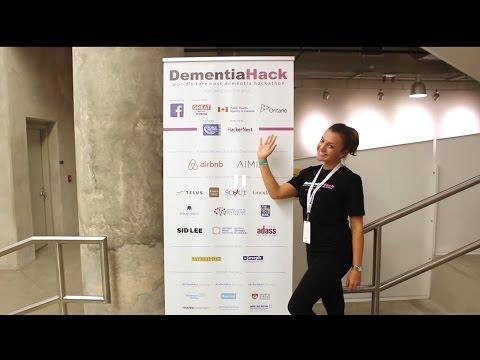 #DementiaHack Toronto 2015 Hackathon Weekend 1 minute video