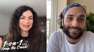 YOU with Sera Gamble & Penn Badgley // 1-on-1... from the Couch!