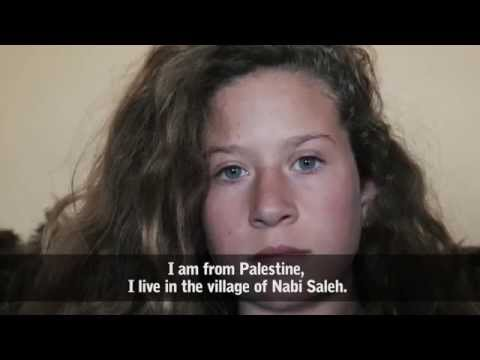 PALESTINE | The 14-year-old Palestinian Girl Who Confronted The Israeli Army