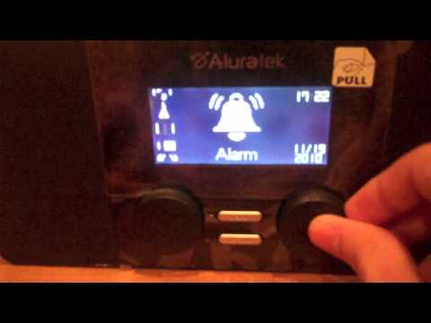 Aluratek Internet Radio Alarm Clock with Built-in WiFi (v2) Full Review (Giveaway)