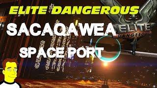 Елітний небезпечні горизонти Sacaqawea космодрому глибокого космосу - дорога в колонію