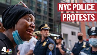 At Least 100 Arrested in 3rd Night of New York City Protests | NBC New York