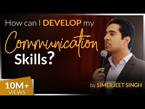 How to develop your Communication Skills by International Keynote Speaker Simerjeet Singh | CC 8