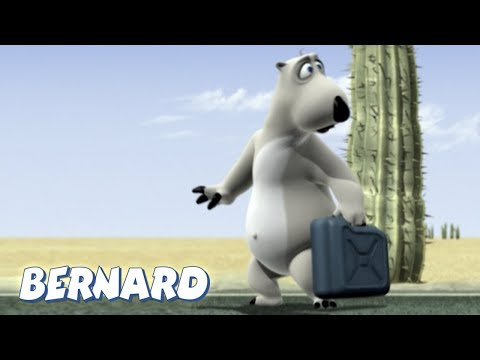 Bernard Bear   Hitchhiking AND MORE   15 min Compilation   Cartoons for Children