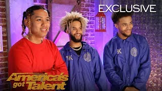 The Future Kingz Talk About AGT Being A Massive Opportunity - America's Got Talent 2018