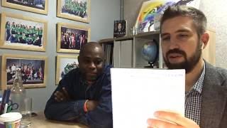 2 Года после открытия кофейни/ отзыв партнёра из Конго Браззавиль, Людовика