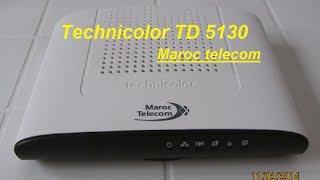 technicolor td 5130 الحلقة 1 بكل سهولة إعداد وتثبيت روتر إتصالات المغرب