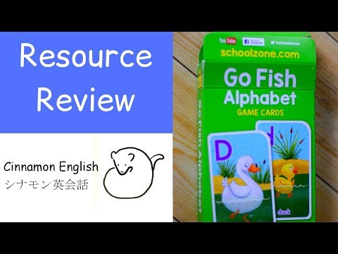 Go Fish Alphabet Card Game