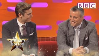Zac Efron and Matt Le Blanc on Voice Dubbing - The Graham Norton Show - S11 E3 - BBC One