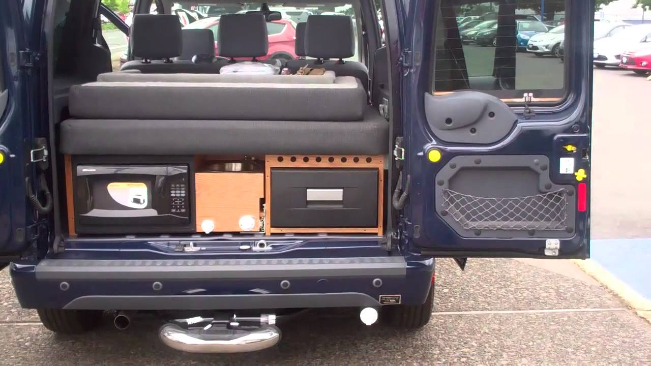 Transit connect rv conversion with dual rear and side awnings room at gresham ford youtube