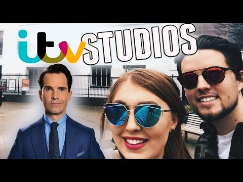 GOING TO ITV STUDIOS IN LONDON WITH JIMMY CARR!