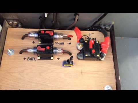 DIY SOLAR POWER GENERATOR ( portable 12 volt ) # 1