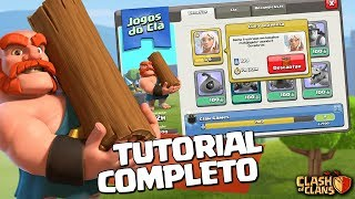 TUTORIAL COMPLETO DO JOGOS DO CLÃ / CLAN GAMES CLASH OF CLANS