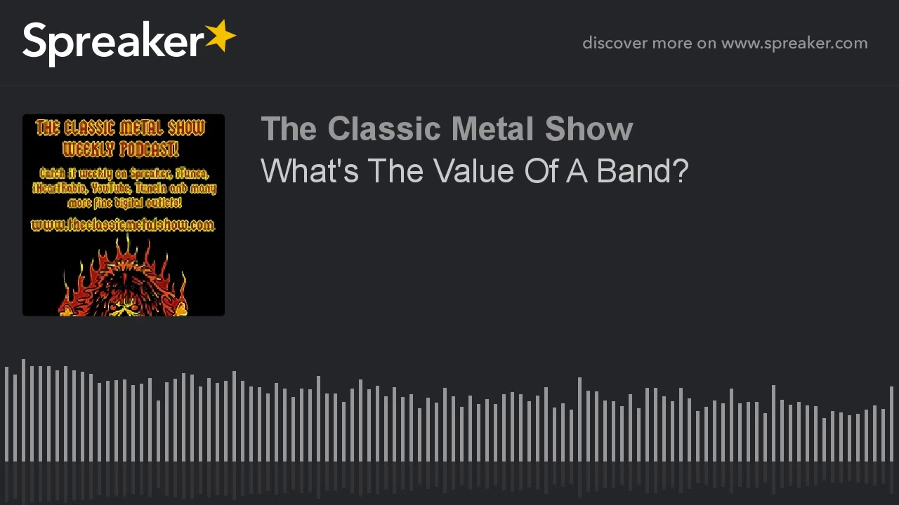 What's The Value Of A Band
