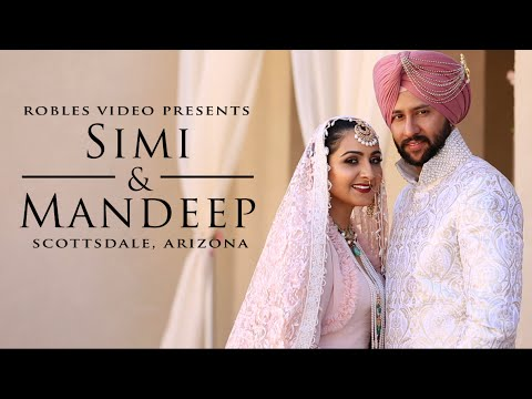 Simi Dhillon & Mandeep Anttal - Cinematic Same Day Highlight (Sikh)