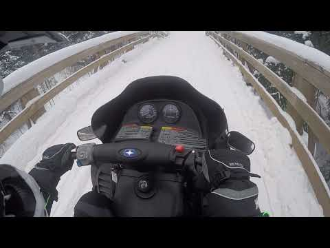 Snowmobiling In Hurley Wi 1/12/2019