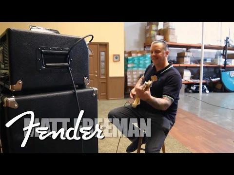 Fender Bassman Pro Series Demo with Rancid's Matt Freeman