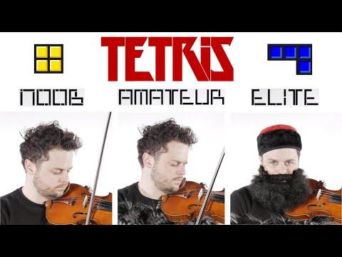 4 Levels of Tetris Music: Noob to Elite