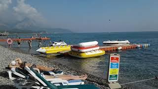 Отдых в Турции Кемер Пляж отеля KEMER DREAM