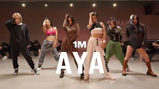 마마무 Mamamoo 아야 Aya Lia X Jj Choreography