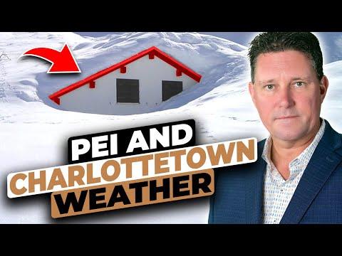 Prince Edward Island Weather | Prince Edward Island Winter | Charlottetown Weather | PEI Map Canada