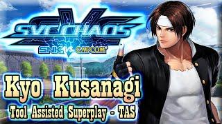 【TAS】SVC CHAOS : SNK VS CAPCOM - KYO KUSANAGI