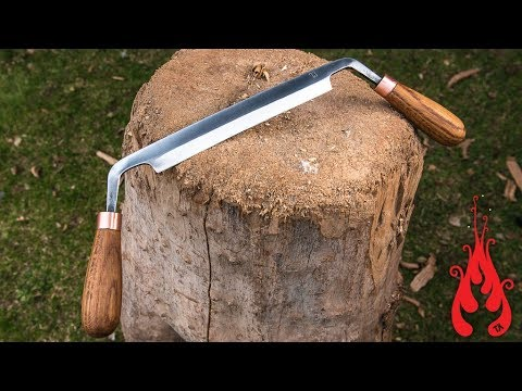 Blacksmithing - Forging a drawknife