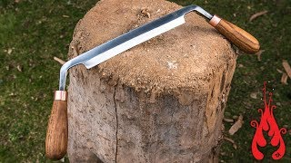 Blacksmithing - Forging a drawknife
