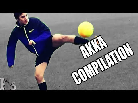 THE BEST AKKA COMPILATION OF STREET FOOTBALL
