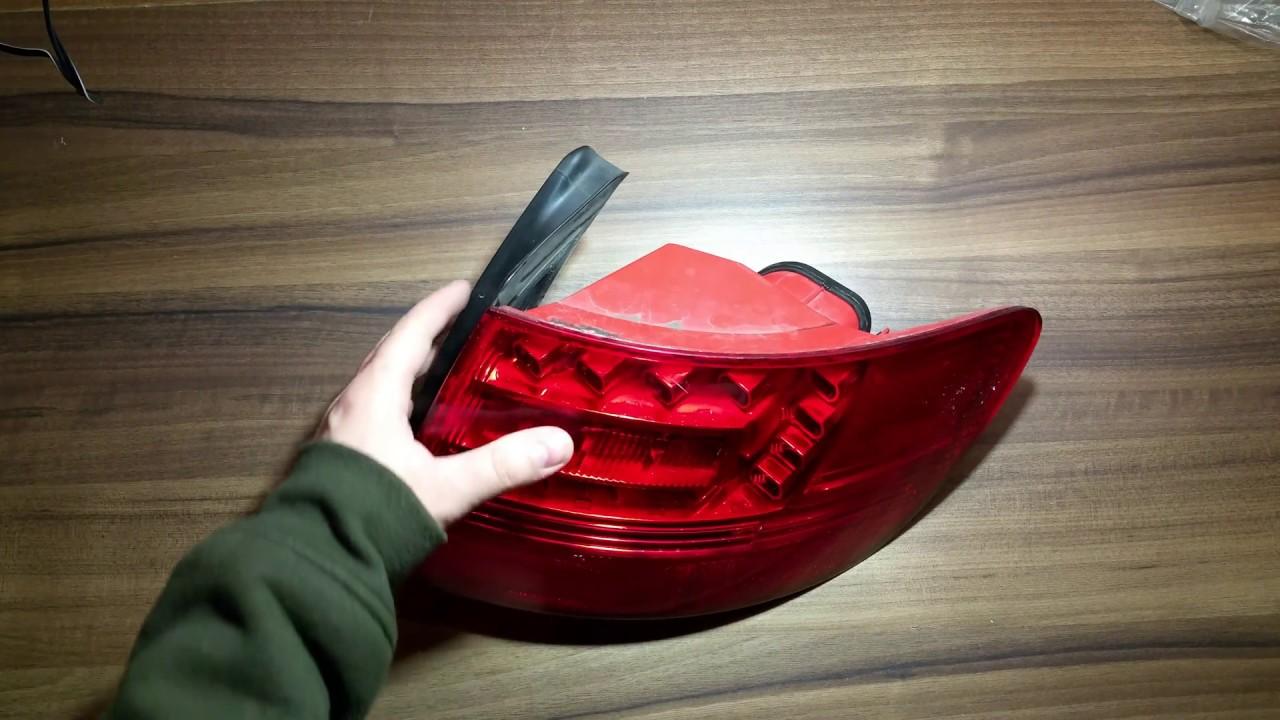 HECKLEUCHTE RÜCKLEUCHTE RÜCKLICHT LED INNEN LINKS AUDI A6 C6 4F AVANT KOMBI
