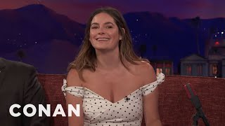 "Jamie Neumann Watched A Lot Of '70s Porn To Prepare For ""The Deuce""  - CONAN on TBS"