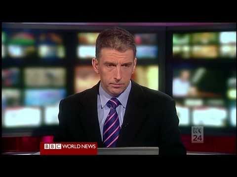 Strange Headline Bed on BBC World News Top-Of-The-Hour (on ABC News 24)