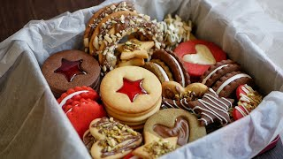 Cookies Box 🎁 12 Types of COOKIES 🍪 from one dough!
