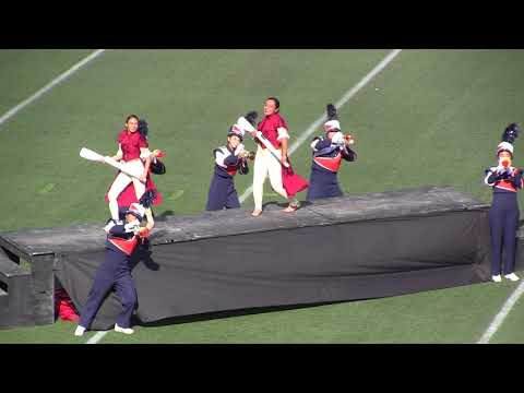 Chatsworth Charter HS Marching Band and Color Guard @ LAUSD Championships 12/02/17