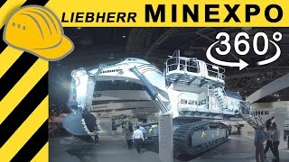 LIEBHERR MINING 360° VR Video - T236 R9200 MINExpo 2016 Overview  4K