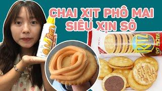 Chai Xịt Phô Mai Siêu Xịn Sò   Pít Ham Ăn   #Shorts