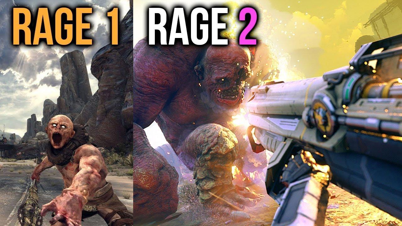 Rage 2 vs Rage 1: BIGGEST CHANGES thumbnail