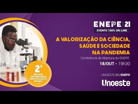 Conferência de <br> Abertura do ENEPE <br>