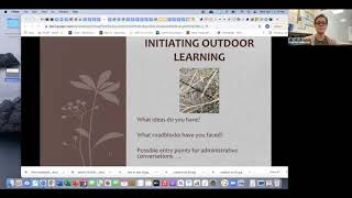 Outdoors With Kids - Garnering Administrative Support, MEEA Conference, April 7, 2021