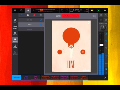 LUXE Audio Enhancer by Klevgrand - AUv3 - Demo & Tutorial for the iPad