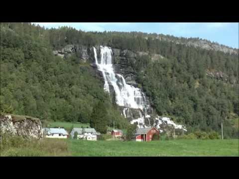 Tvindefossen, Voss, Hordaland, Norway