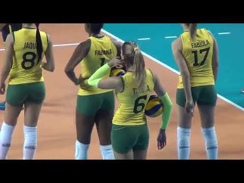 Brazil women volleyball national team - Thaisa the best player