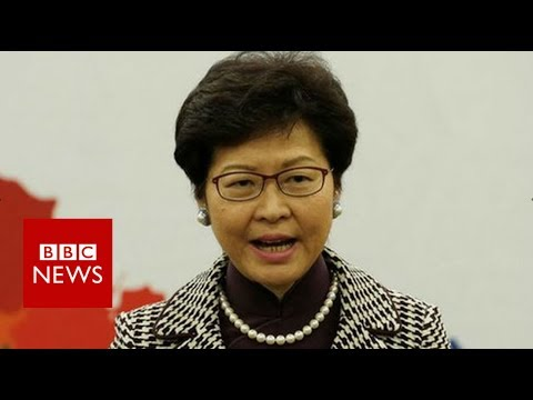 Hong Kong's Carrie Lam: 'I am no puppet of Beijing' - BBC News