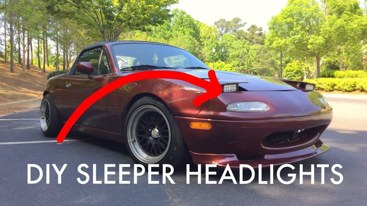 Headlight Motor Wiring Miata Diagram For Warn A2000 Winch 36 Low Profile Install Youtube