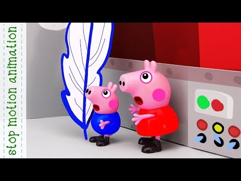 Fairy tale about the fish.  Peppa pig toys stop motion animation english episodes 2018